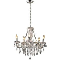Our brand new completely clear  Theresa  chandelier. Rent it today at .westminsterparty.com  sc 1 st  Pinterest & Chandelier -