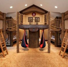 I WANT THIS IN MY BASEMENT!!! SPECIFICALLY FOR SLEEPOVERS!!! :p