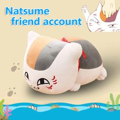 $4.28 (Buy here: https://alitems.com/g/1e8d114494ebda23ff8b16525dc3e8/?i=5&ulp=https%3A%2F%2Fwww.aliexpress.com%2Fitem%2FXia-mu-friends-account-doll-plush-toy-cat-teacher-Plush-pillow-doll-Kids-Christmas-Birthday-Gift%2F32755100652.html ) 30cm Natsume's Book of Friendsl plush toy cat teacher Plush pillow soft stuffed anime doll  Kids toys Birthday Gift for children for just $4.28