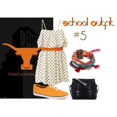 """""""Back To School: Outfit #5"""" by volleyball292 on Polyvore"""
