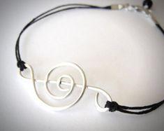 Celtic Knot bracelet Outlander Celtic jewelry by JewelryByMaeBee