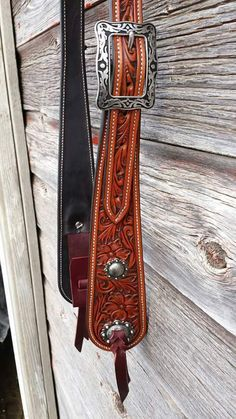 Western Leather Floral Tooled Old Timey Headstall ~ Horse by NeelyLeatherwork, $225.00 USD