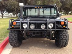 "sold—-2000 hummer h1 ""Search and Rescue edition"" 35k miles"