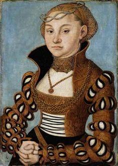 A Woman, 1534 (Lucas Cranach the Elder) (1472-1553) Musée des Beaux-Arts de Lyon Inv B 494