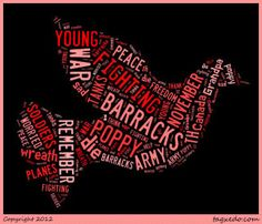 Adventures in Kindergarten: Remembrance Day Remembrance Day Activities, Remembrance Day Art, Poetry For Kids, Art For Kids, Tagxedo, School Library Displays, Ww1 Art, Art School, School Ideas