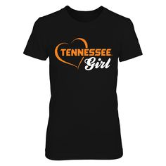 Tennessee Girl - University of Tennessee Volunteers T Shirt T-Shirt, Are you a Tennessee girl and proud Vols fan? If so, this University of Tennessee Volunteers T Shirt is for you. Show your support for the Volunteers with this exclusive tee. Also available in a range of other clothing styles including hoodies and racerback tanks. Go Vols!  The Tennessee Volunteers Collection, OFFICIAL MERCHANDISE  Available Products:          District Women's Premium T-Shirt - $29.95 Gildan Women's T-Shirt…