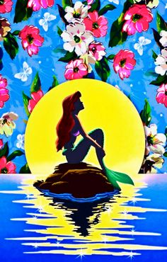 Ariel iPhone 5 background / wallpaper - The Little Mermaid