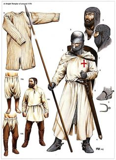 Spain / Battles, Knights - The Reconquest -  A Knigth Templar