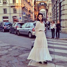 #Fashion-ivabellini #Milan Fashion Week