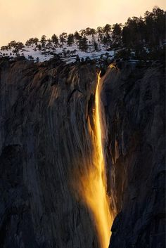 Yosemite Firefall Yosemite National Park California US Say Yes To Adventure