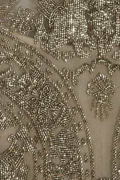 Valentino Combi-short en tulle ornée de perles