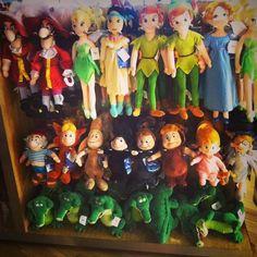 My child will have every Peter Pan doll Disney Dream, Disney Love, Disney Magic, Peter Pan 3, Peter And Wendy, Disney Parks, Disney Pixar, Walt Disney, Peter Pan And Tinkerbell
