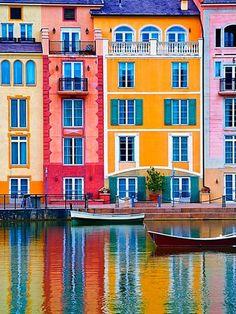 Portofino, Italy … – Travel World Italy Vacation, Italy Travel, The Places Youll Go, Places To Go, Portofino Italy, Colourful Buildings, Colorful Houses, Belle Villa, Usa Tumblr