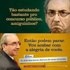 Eduardo Cunha (bandido, pilantra e ladrão) é o principal defensor do Projeto de Lei 4330, da terceirização, o mais ousado ataque aos direitos dos trabalhadores da História Republicana brasileira, que nem mesmo a ditadura de 1964 ousou tentar.