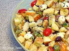 Panzanella Salad...perfect for any occasion! Always loved by family and guests!