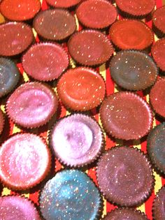 Our custom hand-painted peanut butter cups with bling!