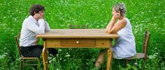 Valter Kramar and Ana Roš. (Photo by Janez Pukšič) Becoming A Chef, Picnic Table, Chef's Table, Slovenia, The Beautiful Country, The Locals, Places To Go, Interview, Outdoor Decor