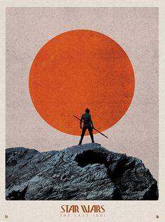 Star Wars: The Last Jedi by Matt Needle