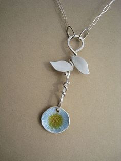 Enamel on Fine Silver, Sterling Silver | Flickr - Photo Sharing!