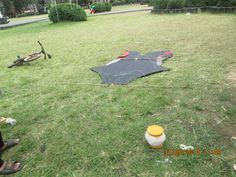 """A play-field of """"KITE FLYING""""."""