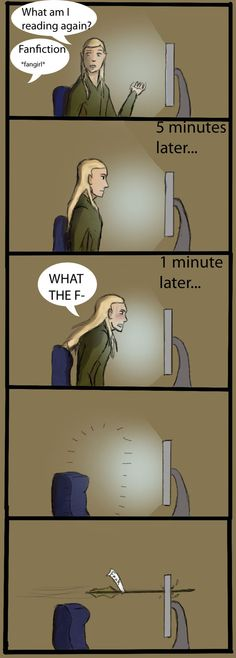 Legolas Fanfiction Reaction by Drag0n24 on deviantART