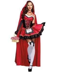 Sexy Little Red Riding Hood Dress from Buycostumes.com