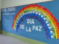 Pasito a Pasito: DIA DE LA PAZ Harmony Day, Spanish Projects, Fast Finishers, Class Decoration, Spanish Classroom, Olympus Digital Camera, Peace, Teaching, Education