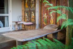 Amatuli > Senufo bed at Emily Moon River Lodge