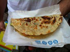 Tacos, de Lourdez Hernandes, na feira gastronômica O Mercado, durante a Virada Cultural. Perdeu?