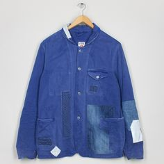 David French Worker - Blue | Kings of Indigo | Peggs & son.
