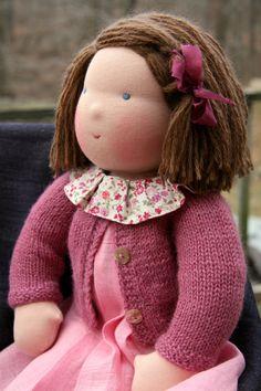 Beautiful Waldorf doll!