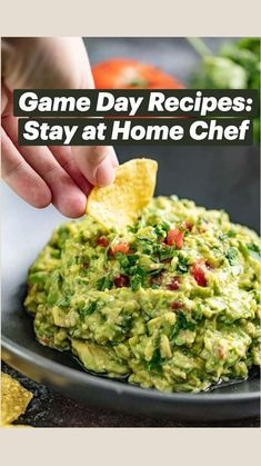 Potluck Recipes, Chef Recipes, Mexican Food Recipes, Appetizer Recipes, Cooking Recipes, Stay At Home Chef, Fresh Eats, Game Day Food, Avocado Recipes