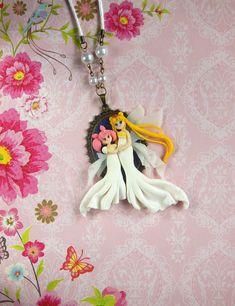 Sailor Moon Queen Serenity & Chibiusa Motherlove Collection Cameo