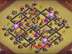 OMG These anti dragon base designs are really cool because of which dragons stopped flying after seeing this town hall 8 base layouts and killed themselves. Kids Team Building Activities, Clan Castle, Clash Of Clans Game, Dragon Base, Lost Stars, Minute To Win It Games, Blackpink Photos, Games For Kids, Board Games