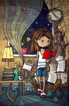 Café y una buena lectura...