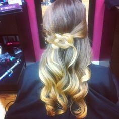 celtic knot grad hair