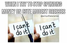 Trying to find modest dresses is hard, but when you do find one, you can't not buy it. Lds Memes, Latter Day Saints, Modest Dresses, Budgeting, Canning, Photo And Video, Instagram, Budget Organization, Home Canning