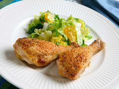 baked parmesan drumsticks.. it's what's for dinner (tonight)...and it was good :)