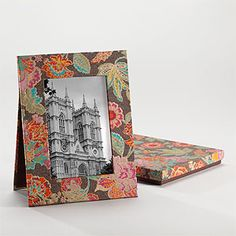 Brown Floral Frame in Box | Shop by Category| Mother's Day | World Market
