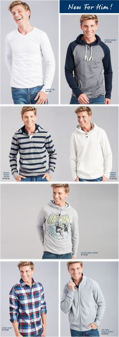 Pick n Pay Clothing | New For Him - Pick n Pay Winter clothing every man needs. You will find a wide range of outdoor clothing for men at great prices, from Hoodies to tracksuits. Beat the chills.