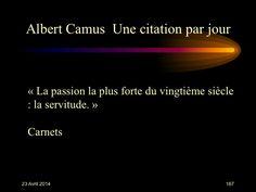 Albert Camus (1913-1960) n° 167