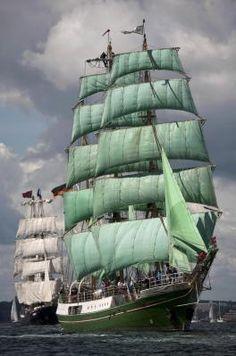 Немецкий корабль