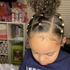 Cute Toddler Hairstyles, Kids Curly Hairstyles, Cute Little Girl Hairstyles, Natural Hairstyles For Kids, Baddie Hairstyles, School Hairstyles, Simple Hairstyles, Prom Hairstyles, Hairstyle Short
