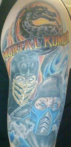 Mortal Kombat one of my favs as a kid..badass tat
