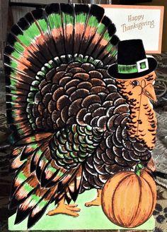 Vintage Thanksgiving Flair