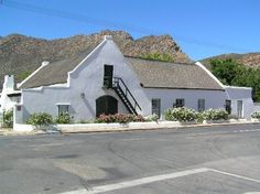 - Storms River to Stellenbosh - South Africa British Architecture, Architecture Images, Vernacular Architecture, External Staircase, Prefab Buildings, African House, Cape Dutch, Dutch House, Cottage Renovation