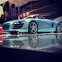 Audi R8 GT Spyder -- Instagram Photos, via Flickr.