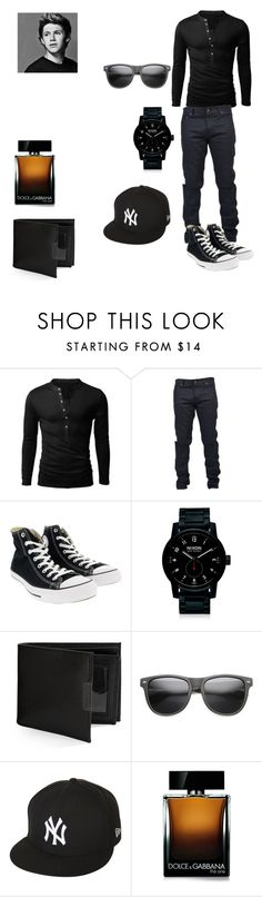 """""""Niall's outfit for day in Rio De Janeiro, Brazil"""" by onedirectionforever1297 on Polyvore featuring Yves Saint Laurent, Converse, Nixon, Perry Ellis, New Era, Dolce&Gabbana, men's fashion and menswear"""