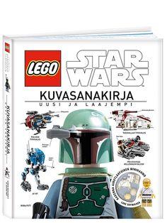 LEGO Star Wars, Kuvasanakirja, Uusi ja laajempi. Avaruusalukset, ajoneuvot, olennot, välineet ja minihahmot: upea, laajennettu ja täydennetty kuvasanakirja vie uskomattomaan LEGO® Star Wars™ -maailmaan ja esittelee sen koko historian. Mukana on täydellinen, kuvitettu luettelo kaikista sarjoista uusimpia Yoda Chronicles -sarjoja myöten sekä Star Wars -minihahmogalleria Anakinista Obi-Wan Kenobiin.