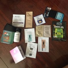 Makeup sample bundle Everything has not been used. Comes in an ipsy cosmetic bag Sephora Makeup